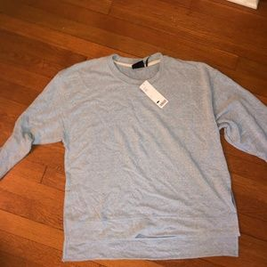 light blue urban outfitters crewneck